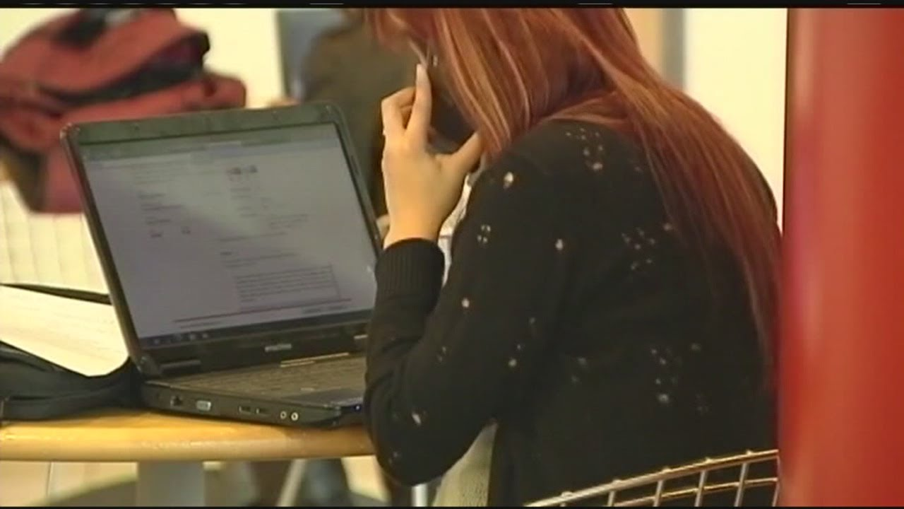 Students waiting for college acceptance letters - YouTube