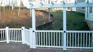 Ace Deck & Fence Llc Deck Pvc Alexandria 02.avi