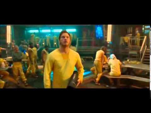 Lloyd Kaufman in the Guardians of the Galaxy scene