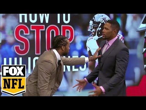 Josh Norman demonstrates how to stop Julio Jones | FOX NFL SUNDAY
