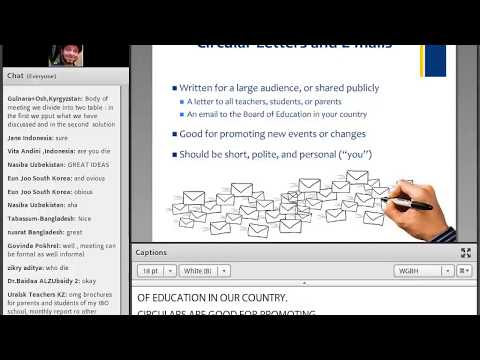 AE Webinar 7.5 - Understanding Documentation and Draft Writing for Business English