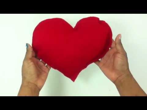 Hacer un coj n de coraz n manualidades en casa youtube - Como hacer un corazon con fotos ...