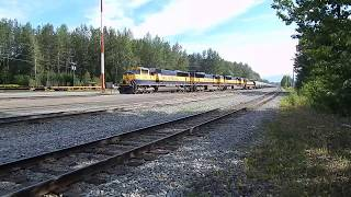 Alaska Railroad in Anchorage.  I am so tired of waiting!