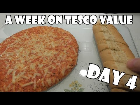 A Week On Tesco Value DAY 4