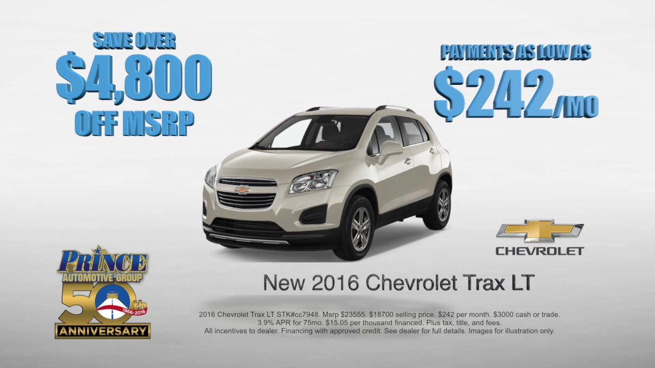 New Year, New Chevy | Prince Chevrolet | Tifton GA | PrinceAuto.com