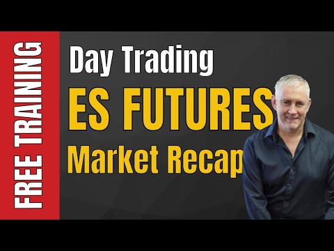 Day Trading ES Futures Market Recap for the 15 11 2016