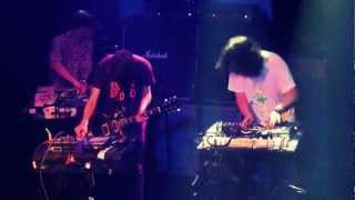 Black Dice - Outer Body Drifter/Rodriguez/Pigs || live @ 013 / Incubate || 14-09-2012