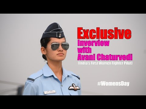 Exclusive Interview With India's First Women Fighter Pilot Avani Chaturvedi