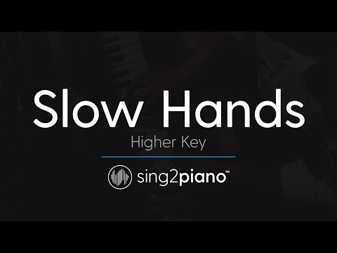 Slow Hands [HIGHER Piano Karaoke] Niall Horan