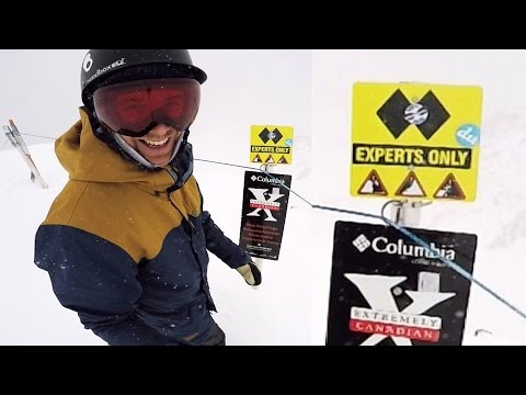 Save How To Survive a Double Black Diamond - Big Mountain Snowboarding Snapshots