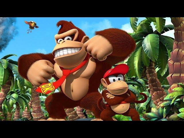 "Знакомство с ""Donkey Kong Country"" [Super Nintendo SNES] #1"