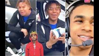 YBN Cordae & YBN Almighty Jay Fly PUMA Helicopter To Coachella + Nipsey Celebrates 420 Flashback + J