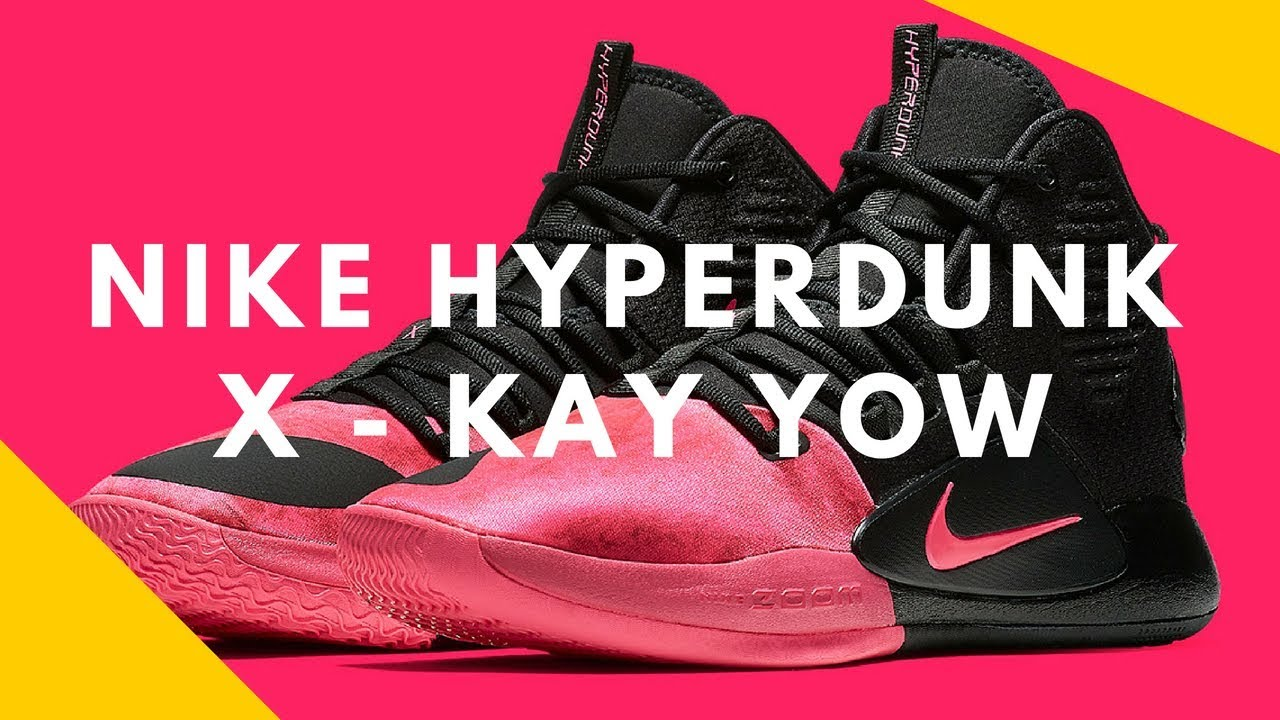 107aee71493b First Look At The Nike Hyperdunk X Kay Yow - YouTube