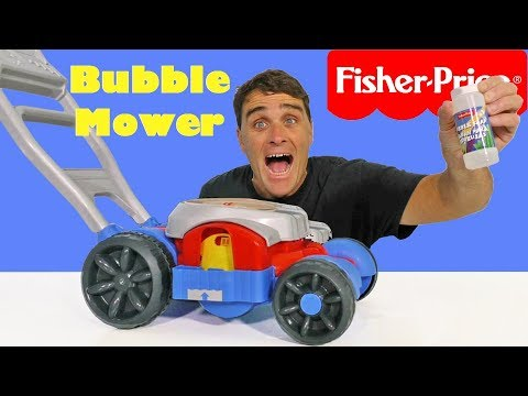 Fisher Price Bubble Mower ! || Toy Review || Konas2002