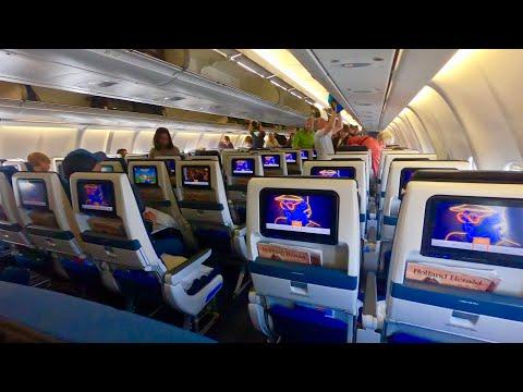 Aruba - Bonaire KLM Airbus A330-200 (PH-AOA) in Economy Class