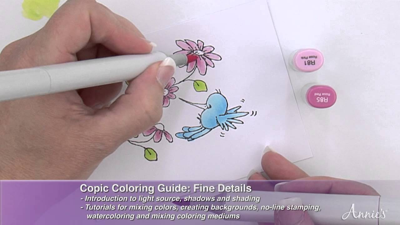 How to Color: Creating With the Copic Coloring Guide Book Series ...