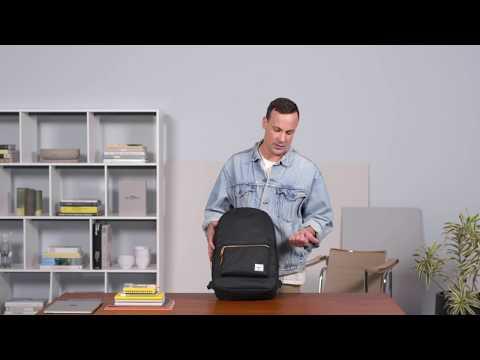 Herschel Supply Settlement Backpack Tutorial