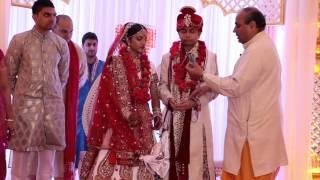 Indian Wedding DJ and Event Lighting - Nipa and Vikas - Same Day Edit - Novi Michigan Sheraton