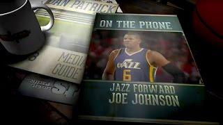 Utah jazz f joe johnson on the dan patrick show (full interview) 04/26/17