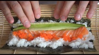 How To Make Sushi: Spicy Tuna And California Roll + Giveaway