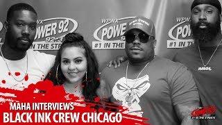 Black Ink Crew Chicago Talks Leaving 9 Mag, Chicago Violence + More!