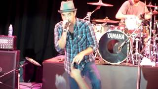 "Hoobastank performing ""Crawling in the Dark"" live @ the Alameda County Fair on July 6, 2012"