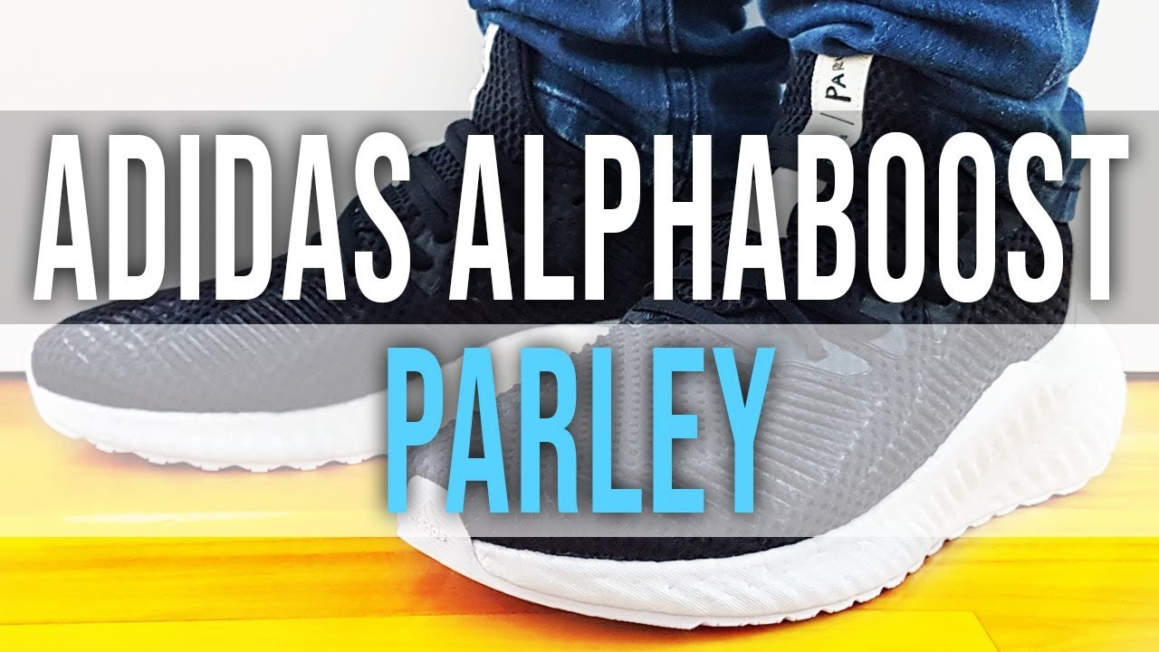 7aefa7b8f ADIDAS ALPHABOOST X PARLEY on Feet, Close Up and Unboxing - YouTube