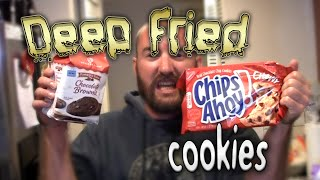 Deep Fried Cookies