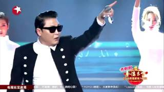 鸟叔演唱《Dance Jockey》 点评广场舞大妈骑马舞 -  2016东方卫视春晚【东方卫视官方超清】