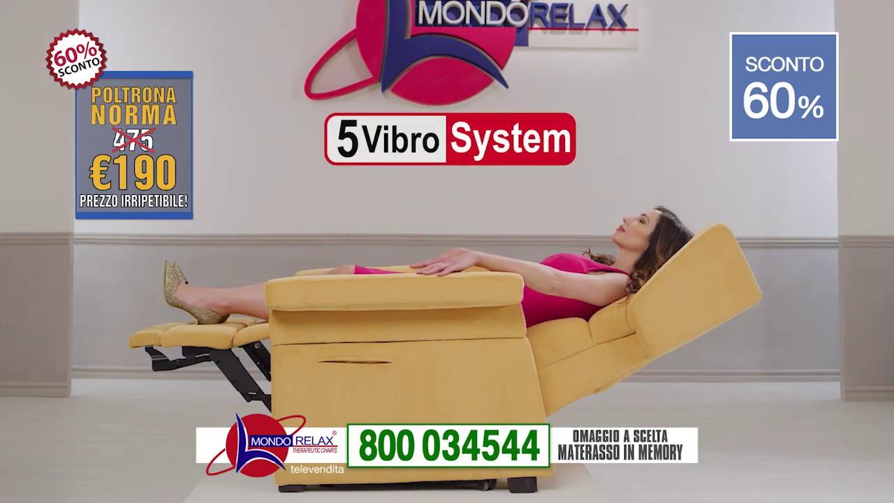 Mondo Relax Poltrone Prezzi.Mondorelax Spot 2019 Youtube
