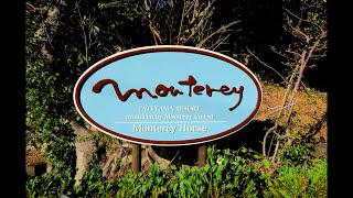 空撮映像:【館山湾とオーシャンブルーの海 】 【Monterey House】 Sea ...