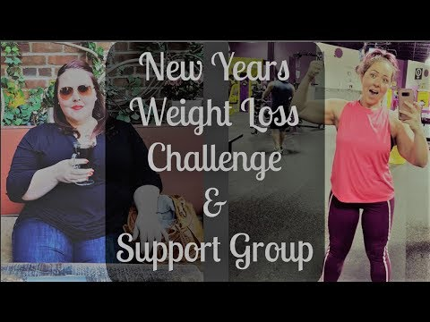 New Years Weight Loss Motivation Challenge & Support Group.