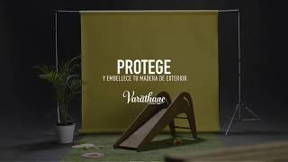 Protegé y embellecé tu madera exterior con Varathane