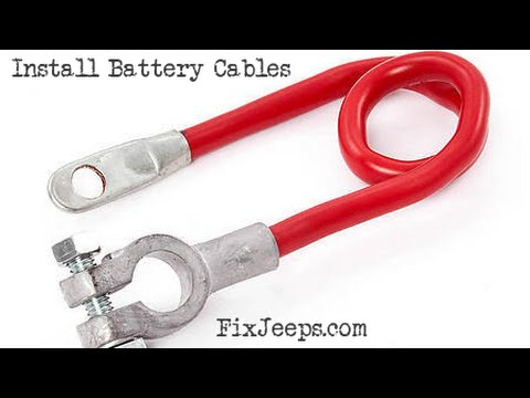hqdefault jeep wrangler yj gets new battery cables youtube