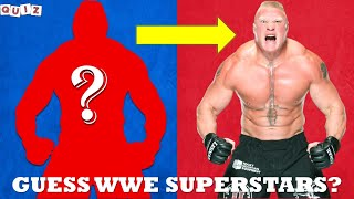 WWE QUIZ | Only True WWE FANS Can Guess WWE SUPERSTARS 2021 |  WWE Challenge Game 2021