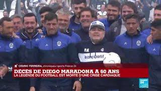 Décès de Diego Maradona : le gouvernement argentin décrète trois jours de deuil national