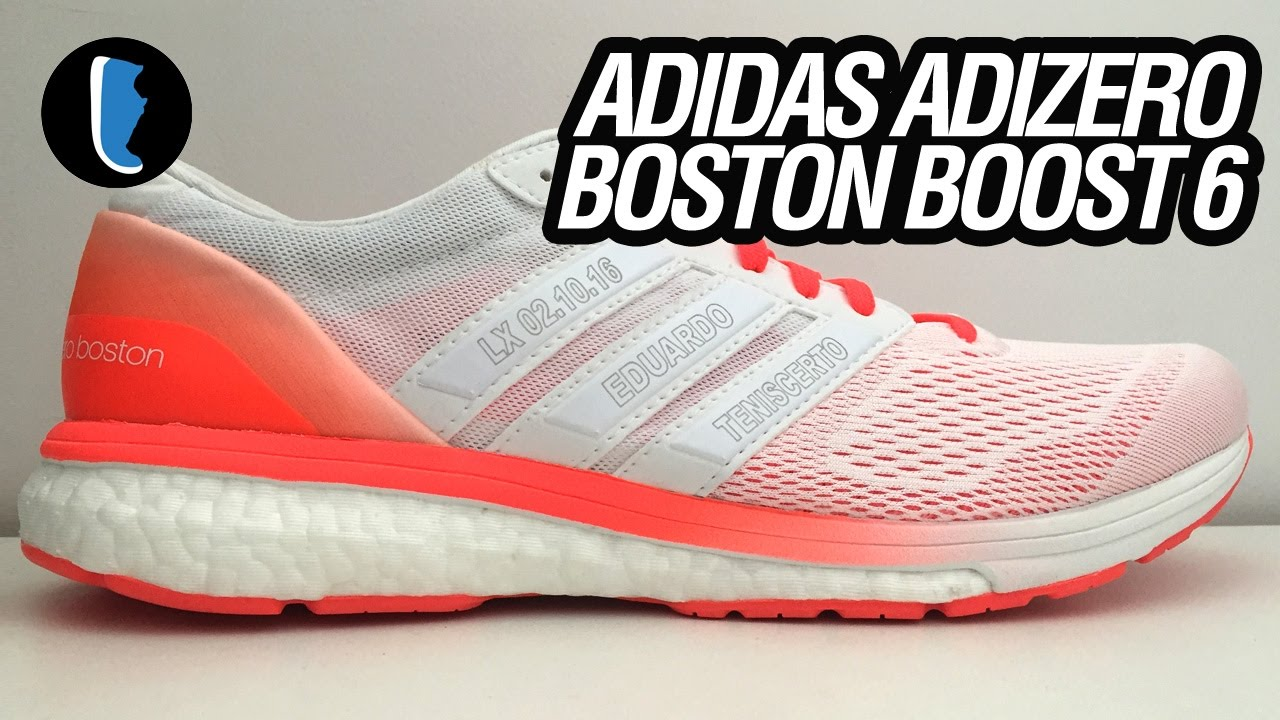 size 40 78fa3 f73a5 adidas adizero Boston Boost 6 (Unboxing)