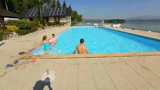 Slanický dvor bazén Námestovo 2018