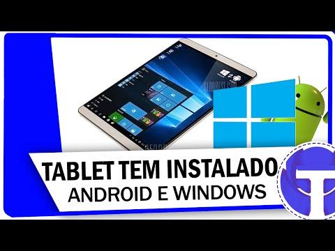 Make Conheça o tablet que tem Android e Windows 10 Screenshots