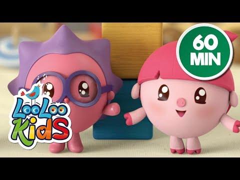 Cantec nou: BabyRiki 60MIN (See-Saw) - Cartoons for Children   LooLoo Kids