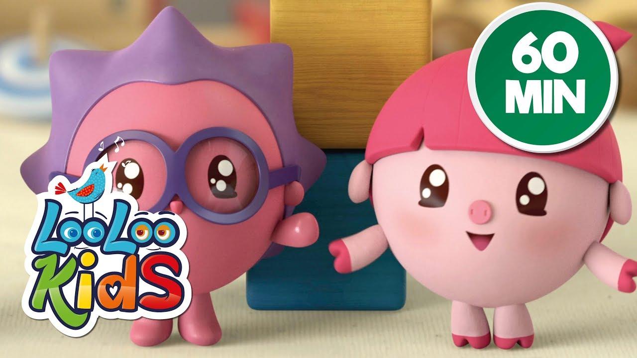 BabyRiki 60MIN (See-Saw) - Cartoons for Children   LooLoo Kids