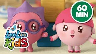 BabyRiki 60MIN (See-Saw) - Cartoons for Children | LooLoo Kids