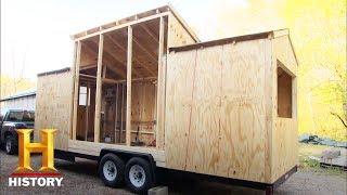 昨今アメリカで注目を集めている極端に小さな住居「タイニーハウス」。...