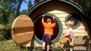Your Own Hobbit Hole Playhouse