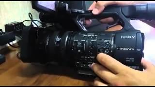 Як налаштувати баланс білого на Sony HXR-NX5U