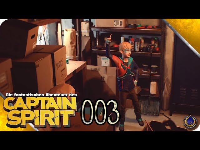 DIE FANTASTISCHEN ABENTEUER DES CAPTAIN SPIRIT 🚀 [003] Der Geist eines Superhelden