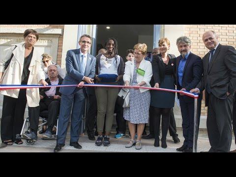 Inauguration du collège Jean Jaurès de Saint Ouen