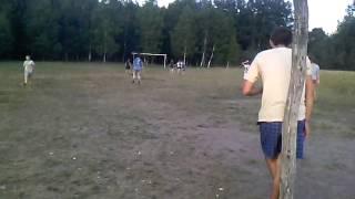 Футбол в рідному селі.