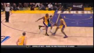 Ron Artest ejected for clotheslining J.J. Barea - Los Angeles Lakers VS Dallas Mavericks [Game 2]