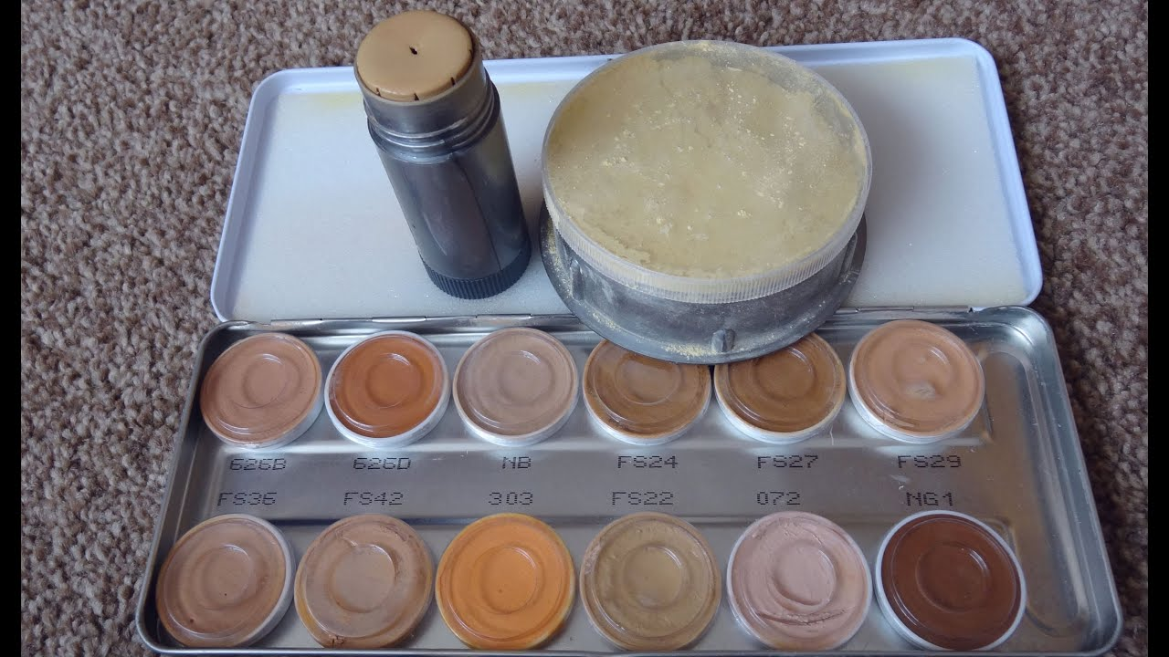 Product Review: Kryolan Tv Paint Stick Translucent Powd ...